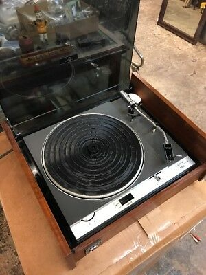 Very Rare Sony PS 1800 Turntable, Great Looking Wood Cabinet