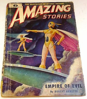 Amazing Stories – UK pulp – Number 11 - May 1952 - H. Beam Piper, Robert Arnette