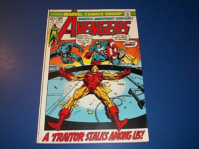 Avengers #106 Bronze Age Vision Solid VG/F Wow