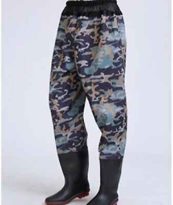 E60 Waterproof Hard Wearing Outdoor Wear Pants Shoes Angling Fishing Clothing O