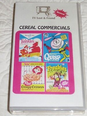 TV Lost & Found CEREAL COMMERCIALS Bought from collector who put it together