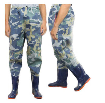 E02 Waterproof Hard Wearing Outdoor Wear Pants Shoes Angling Fishing Clothing O