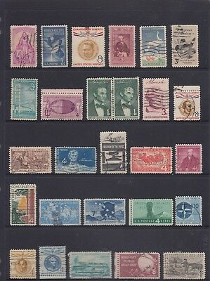 UNITED STATES Collection Including 1c-8c Mainly 1960's USED