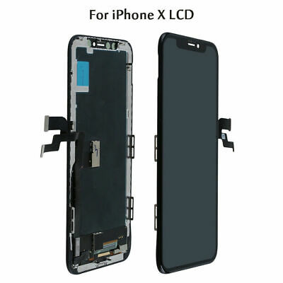 Assembly LCD Display Touch Screen Digitizer For iPhone X 10 Repair Part Black US
