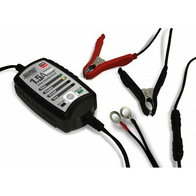 Maypole 1.5Amp 6V/12V Maintenance Smart Battery Charger Car Caravans
