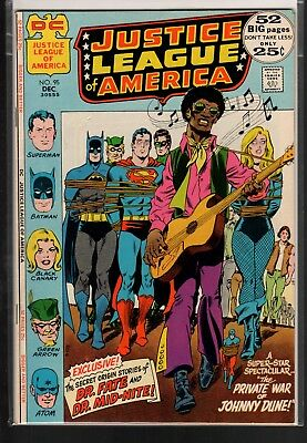 Justice League of America #95 FN/VF 7.0 DC Giant 1971 Dr. Fate/Dr. Midnite!!!