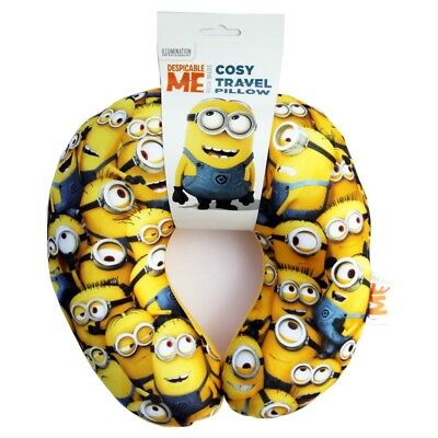Despicable Me Minions MPT003 Cosy Travel Pillow Head Rest Support Cushion
