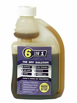 EEC MS250ML 6 in 1 DPF Solution Diesel Particulate Filter Cleaner Concentrate