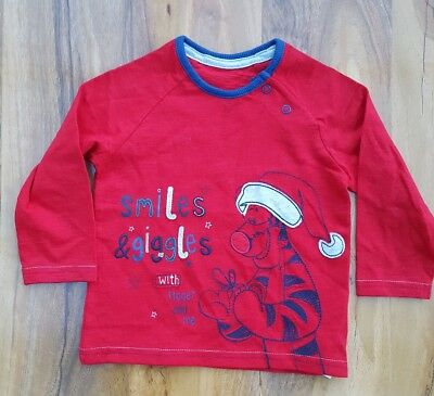 George Baby Boys Fabulous cotton Top. Size 9-12 months. Brand new.