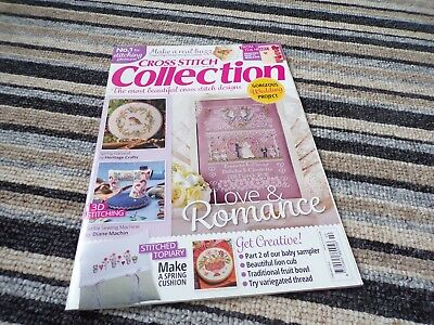**Cross Stitch Collection Magazine February 2016 issue 258 Spring Garland**
