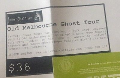 Lantern Ghost Tours - 4 Adult Passes - Old Melbourne Tour