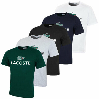 12c14619e LACOSTE MENS CLASSIC Tee Durable Short Sleeve Cotton T-shirt ...