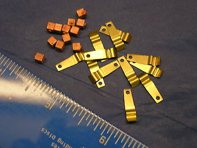 00 Triang/hornby Spares    Solder Your Own Motor Brushes    12 Off