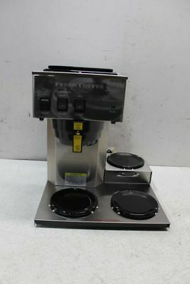 Newco AK-3 101879 Commercial 3-Burner Coffee Brewer Maker
