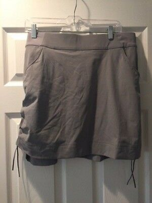 Columbia Anytime Casual Omni-Shield Gray Womens's Skort- size XL