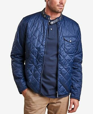 Barbour Men's Royal Navy Blue Ard Quilted Lightweight Jacket