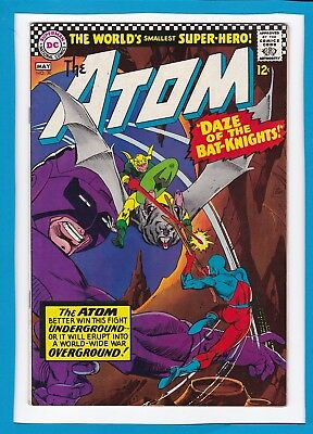 """The Atom #30_May 1967_Very Fine+_""""daze Of The Bat-Knights""""_Silver Age Dc!"""