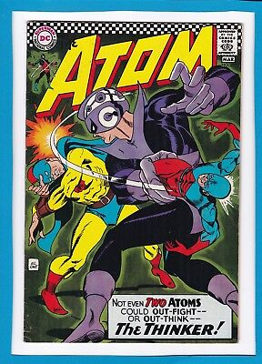 THE ATOM #29_MARCH 1967_VERY FINE_1st SOLO GOLDEN AGE ATOM X-OVER_SILVER AGE DC!