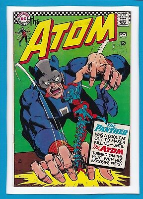 The Atom #27_November 1966_Very Fine Minus_The Panther_Silver Age Dc!