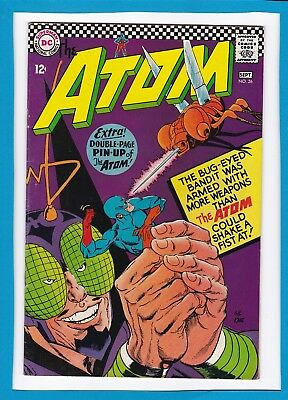 The Atom #26_Sept 1966_Very Fine Minus_Centrefold Pin-Up Intact_Silver Age Dc!