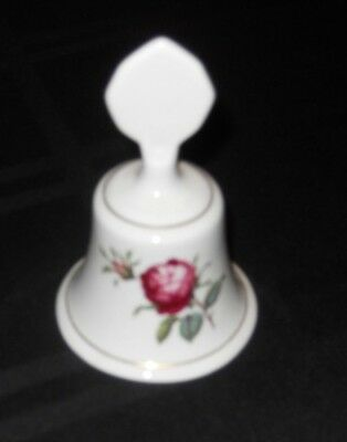 "Chelson Fine China Dinner Bell Approximately 4"" x 3"" Made In England"