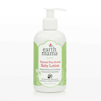 EARTH MAMA - Natural Non-Scents Baby Lotion - 8 fl. oz. (240 ml)