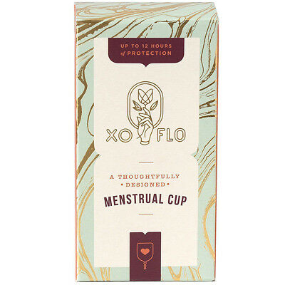 GLADRAGS - Menstrual Cups XO Flo - 1 Cup