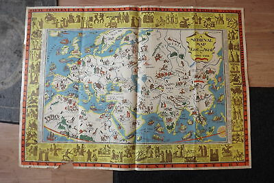 Vintage Lot Of Picture Maps From The Academy Of The New Church Library (21) Maps