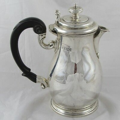 Lovely Quality Antique Edwardian Solid Silver Jug London 1903 431 G