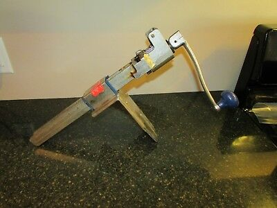 Commercial Edlund #1 Can Opener Counter Top Table Mount Complete Fast