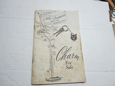 "1960's Edith Chapman Vintage Home Gift Catalog ""Charm for Sale"" Blauvelt, NY"