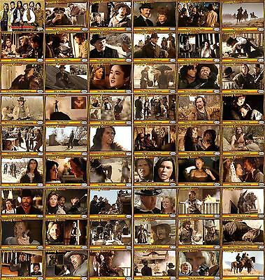 Young Guns movie Storyboard Trading cards Western Estevez Sheen Billy The Kid