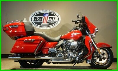 Touring  2016 Harley-Davidson FLHTK Electra Glide Ultra Limited Bagger Firefighter Red