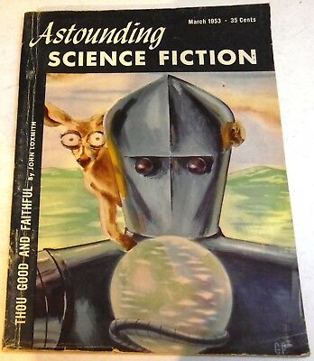 Astounding Science-Fiction – US digest – Vol.51 No.1 - March 1953 - John Brunner