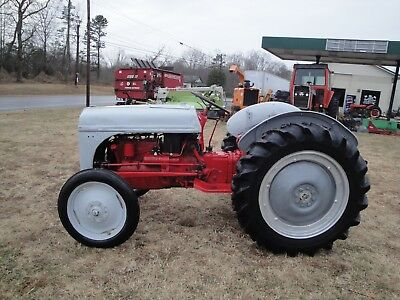 Good Used 8N Ford 2Wd Gas Tractor  Switched To 12 Volt