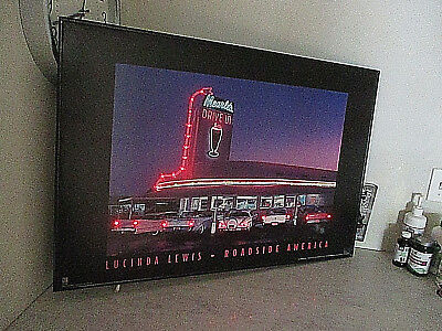 Mearles Drive In Light Up Sign Picture American Graffiti