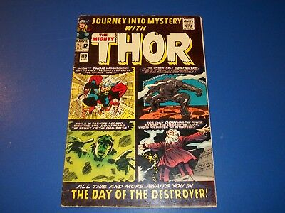 Journey Into Mystery #119 Silver Age Thor Destroyer 1st Story Centerfold loose