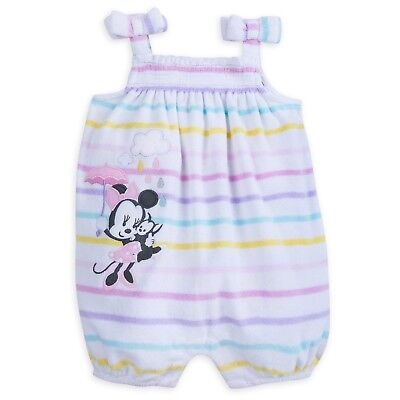 Disney Store Minnie Mouse Baby Romper Baby Bodysuit for Baby Girls' 12-18 Months