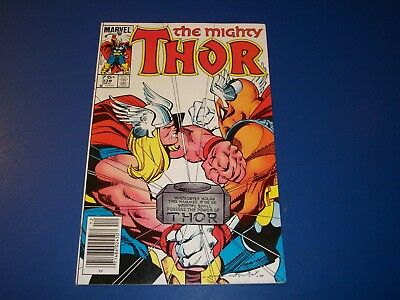 The Mighty Thor #338 2nd Beta Ray Bill VF+ Beauty Wow