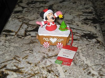 2016 Hallmark - Minnie - Disney - Christmas Express - Train - New with tags