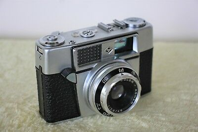 Agfa Optima I a Rangefinder with Flash and Case Beautiful Condition Untested