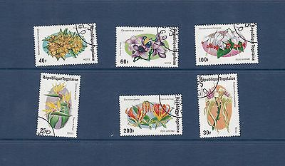 Togo 1975 Flowers of Togo Set VFU SG1052-7