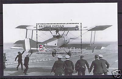 British Indian Ocean Territory 2009 Fly Navy M.S. SG 407 MNH