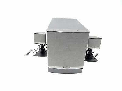 Bose Companion 3 Series II multimedia speaker system Graphite/Silver 8/B13278A