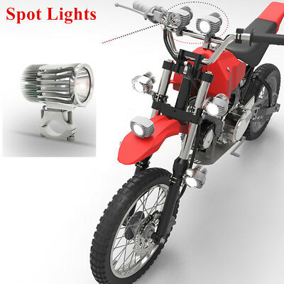 Motorcycle 2700Lm 18W Spot Lights LED Headlight Fog DRL Headlamp White