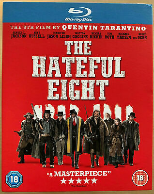 The Hateful Eight (Kurt Russell, Walton Goggins) 8 New Region B Blu-ray