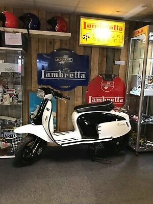 Royal Alloy scooter at Wildcat Scooters GT125 Black & White Dual Colour in stock