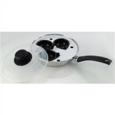 Pendeford Value Plus Collection 3 Cup Egg Poacher, 20cm