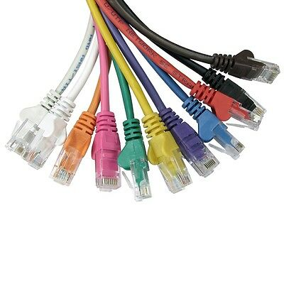 Ethernet Network Cable RJ45 Patch Lead Cat5e Snagless Wholesale