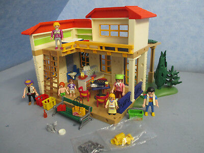 4857 Ferientraumhaus Ferienhaus Toskana Family Fun Holiday Playmobil 4193